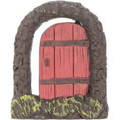Create an enchanting miniature world in your garden with thisSecret Woodland Fairy Door Woodland Fairy, Tree Bark, Garden Ornaments, Perfect Place, Entrance, Arch, Miniatures, Doors, Create