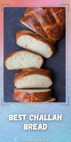 Challah Bread is sweet, fluffy, and one of the best breads! Challah isn't just for Jewish holidays, it's also perfect for breakfast, jelly sandwiches, and even simply with butter.
