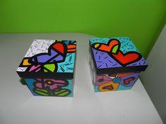 ¡Mirá nuestro nuevo producto! Si te gusta podés ayudarnos pinéandolo en alguno de tus tableros :) Painted Wooden Boxes, Paw Patrol Party, Personalized Notebook, Decoupage Vintage, Dot Painting, Box Design, Painted Furniture, Folk Art, Paint Colors