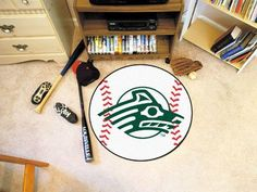 "Alaska Anchorage Baseball Mat 26"" diameter"