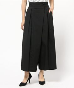 タックスカート風パンツ(パンツ)|Hermaphrodite(エルマフロディット)のファッション通販 - ZOZOTOWN