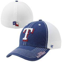 cdf93eb72ac82  47 Brand Texas Rangers Ripley Closer Flex Hat - Royal Blue White Texas  Rangers