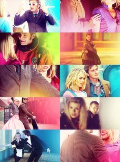 """The Doctor and Rose  - """"Does it need saying?"""" (Doctor Who)"""