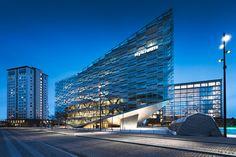 The Crystal – Nykredit headquarters, Copenhagen by Johannes Heuckeroth
