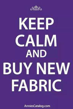 Nothing a little fabric won't fix! #fabfabrics