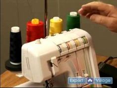 How to Sew: Using a Serger : Introduction to the Serger Sewing Machine