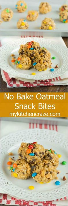 No Bake Oatmeal Snac