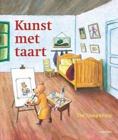 Heerlijk kunstboek for kids - Kunst met taart van Thé Tjong-Khing.