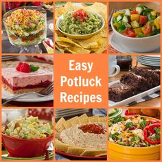 Party Pleasers: 58 Easy Potluck Recipes | MrFood.com