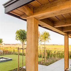 Veranda | Wesselshoek Backyard Patio Designs, Pergola Designs, Backyard Landscaping, Outdoor Projects, Garden Projects, Oak Framed Buildings, Backyard Kitchen, Maine House, Pool Houses