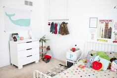 Cute and creative little girl's room