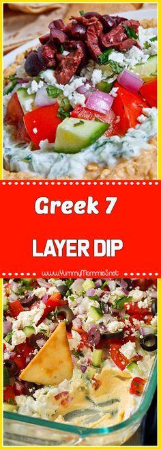 Greek 7 Layer Dip
