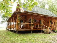 Beautiful Log Cabin Near Lake, Mountain Views, Home movie Theater, WIFI, Hot Tub
