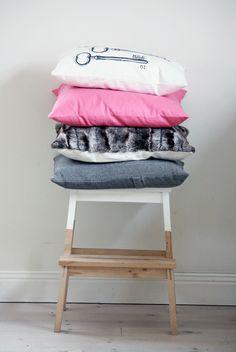 Scandinavian style - variations on IKEA's  BEKVÄM step stool