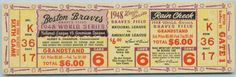 Net 54 Vintage Baseball Memorabilia Forum: Let's see your favorite full tickets or ticket stubs