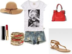 """summer time"" by begum-ozturk on Polyvore"