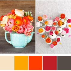 Gorgeous colour combos from my favourite pins.