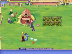 Farm Craft 2 Game: Ginger must stop people making suspicious experimental fruits and vegetables, and stop the Global Vegetable Crisis!  Download Farm Craft 2 at http://fo2games.com/game8282_download.html