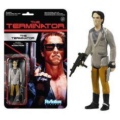 Terminator Terminator One Tech Noir ReAction Action Figure