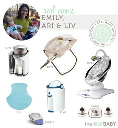 Real Moms Favorite Baby Products - Emily, Ari & Liv. A twin mama shares her picks!