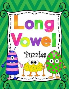 Long Vowel Puzzles Matching