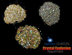 5941094ae New Crystal Explosions now available!!!! We've added Preciosa Chaton's to
