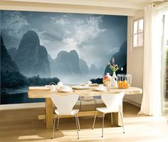 New Ways With Wallpaper & Murals | House & Home