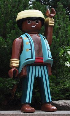 Playmobil géant - Homme Pirate - - Boîte