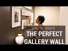 How to Create a Gallery Wall | SIMPLE HACKS - YouTube