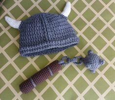 Viking baby set - CROCHET