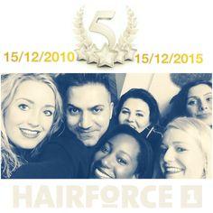 5 jaar jubileum hairforce