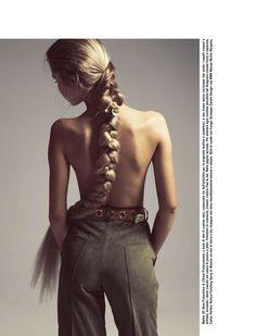 Rapunzel braid.