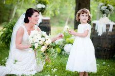 Virginia backyard wedding from Mike Topham Photography