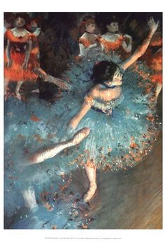 ~ Edgar Degas ~ its amazing how I fell in love with his art just as a child. Seeing his art in the Chicago has always been a great memory