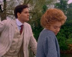 Anne and Gilbert - I love this scene.  Very much like a scene between Laurie and Jo in Little Women.