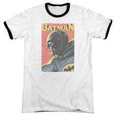 Batman: Original TV Vintman White / Black Ringer T-Shirt