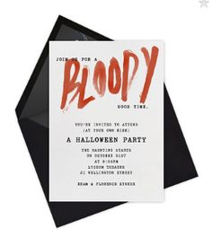 Halloween Invitation Template With Creepy Spider Web  Halloween