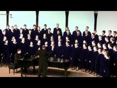 Sure on this Shining Night by Morten Lauridsen - The Concordia Choir with René Clausen as conductor