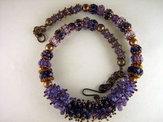 Beaded bead necklace | Flickr - Photo Sharing!