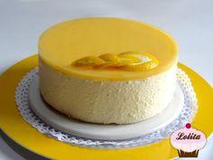 Imagen de la receta Tarta de Mousse de Lemon Curd