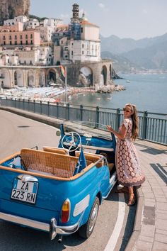 Amalfi Coast drive in a Fiat Jolly - Gal Meets Glam - Amalfi Coast . - : Amalfi Coast drive in a Fiat Jolly - Gal Meets Glam - Amalfi Coast . Travel List, Travel Goals, Italy Travel, Travel Hacks, Travel Guide, Vacation Travel, Travel Packing, Travel In Style, Travel Essentials