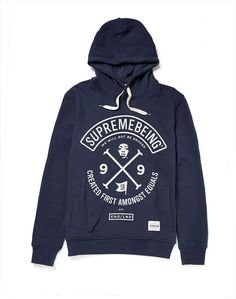 Supremebeing Hoodie with Colours Print
