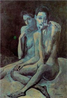 Two friends - Pablo Picasso