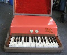 Fender Rhodes Bass Piano (Orange Top)