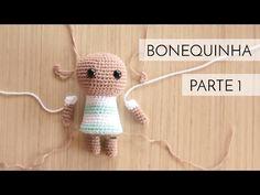 Crochet Dolls, Crochet Hats, String Crafts, Crochet Videos, Amigurumi Doll, Dory, Cute Kids, Mini, Baby Dolls