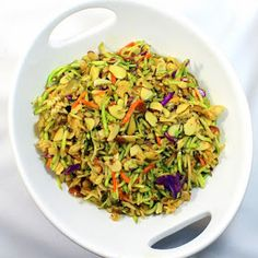 Inspired By eRecipeCards: Grilling Time (Side Dish) - Ramen Noodle Broccoli Cole Slaw