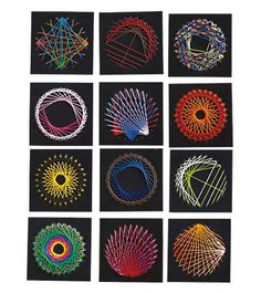I want to make String Art at the cabin this year