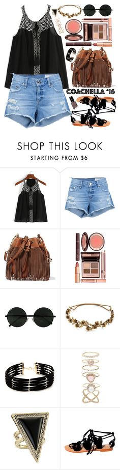 """""""Shein"""" by oshint ❤ liked on Polyvore featuring rag & bone/JEAN, Diane Von Furstenberg, Charlotte Tilbury, Jennifer Behr, Forever 21, Accessorize, House of Harlow 1960 and Bobbi Brown Cosmetics"""