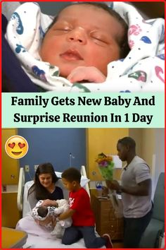 #Family #New #Baby #Surprise #Reunion #Day Welcome New Baby, New Years Eve Outfits, 1 Day, Smokey Eye Makeup, Aesthetic Wallpapers, Cute Puppies, Anime Guys, Cute Couples, Trendy Outfits