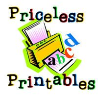 Priceless Printables - posts FREE education printables